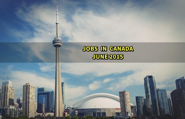 canada jobs june 2015
