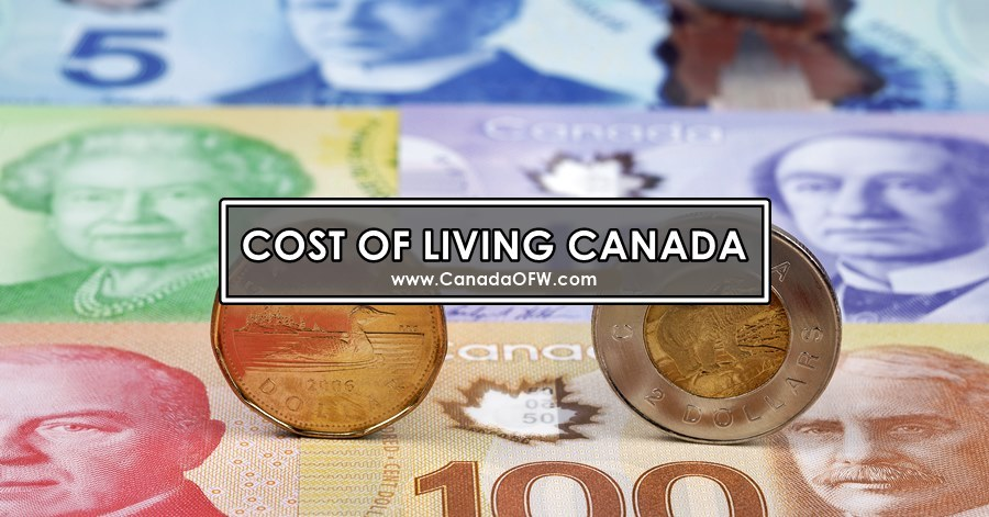 cost of living ofw in canada